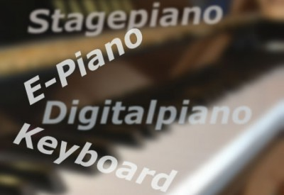 Digitalpiano, Stagepiano, E-Piano, Keyboard