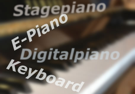 Unterschied: Digitalpiano, Stagepiano, E-Piano, Keyboard?