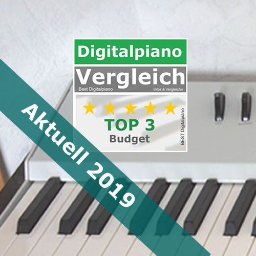 Bestes Digitalpiano 2019 | Top 3 ab 300 EUR