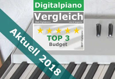 Digitalpianos Budget 2018