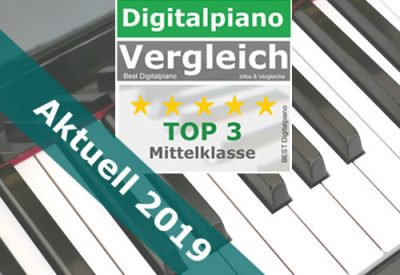 Bestes Digitalpiano Mittelklasse - 2019 - Digitalpiano_Test