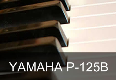 Yamaha P-125 Digitalpiano_Test